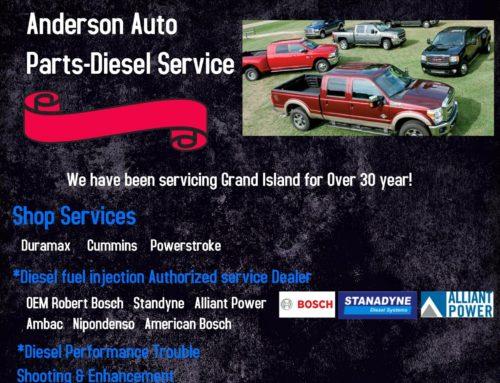 Anderson Auto Parts-Diesel Service