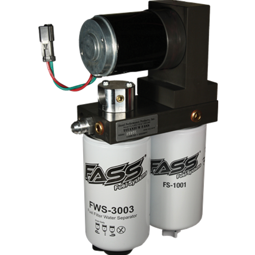 220 GPH FASS Titanium Series Fuel Air Separation System 05-17 5.9L/6.7L Dodge Cummins