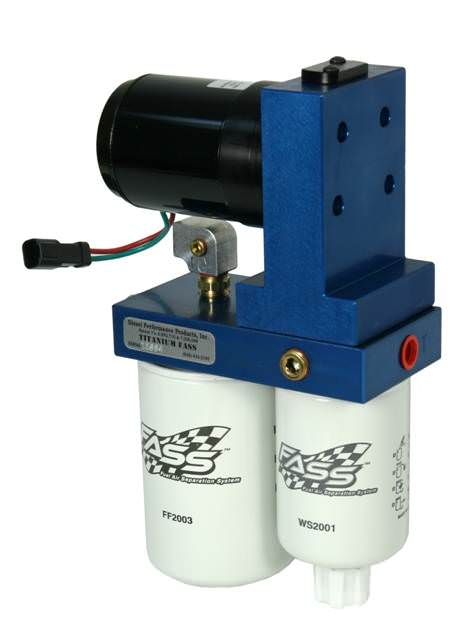 FASS Fuel Systems® Titanium Series 95GPH Fuel Lift Pump | 2008-2010 6 4L  Ford Powerstroke