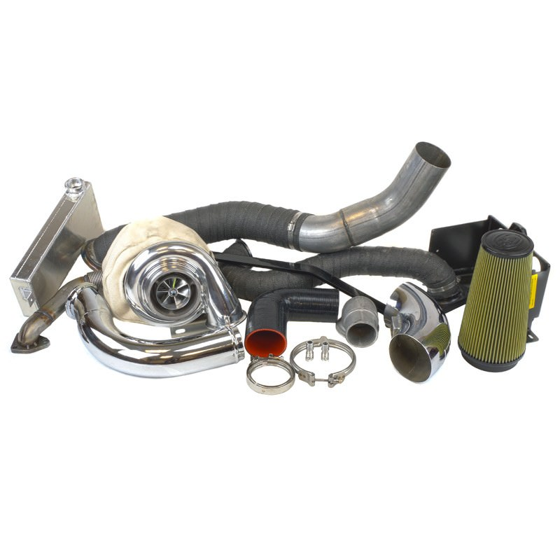 Industrial Injection Duramax 07 5-10 LMM Compound Add-A-Turbo Kit
